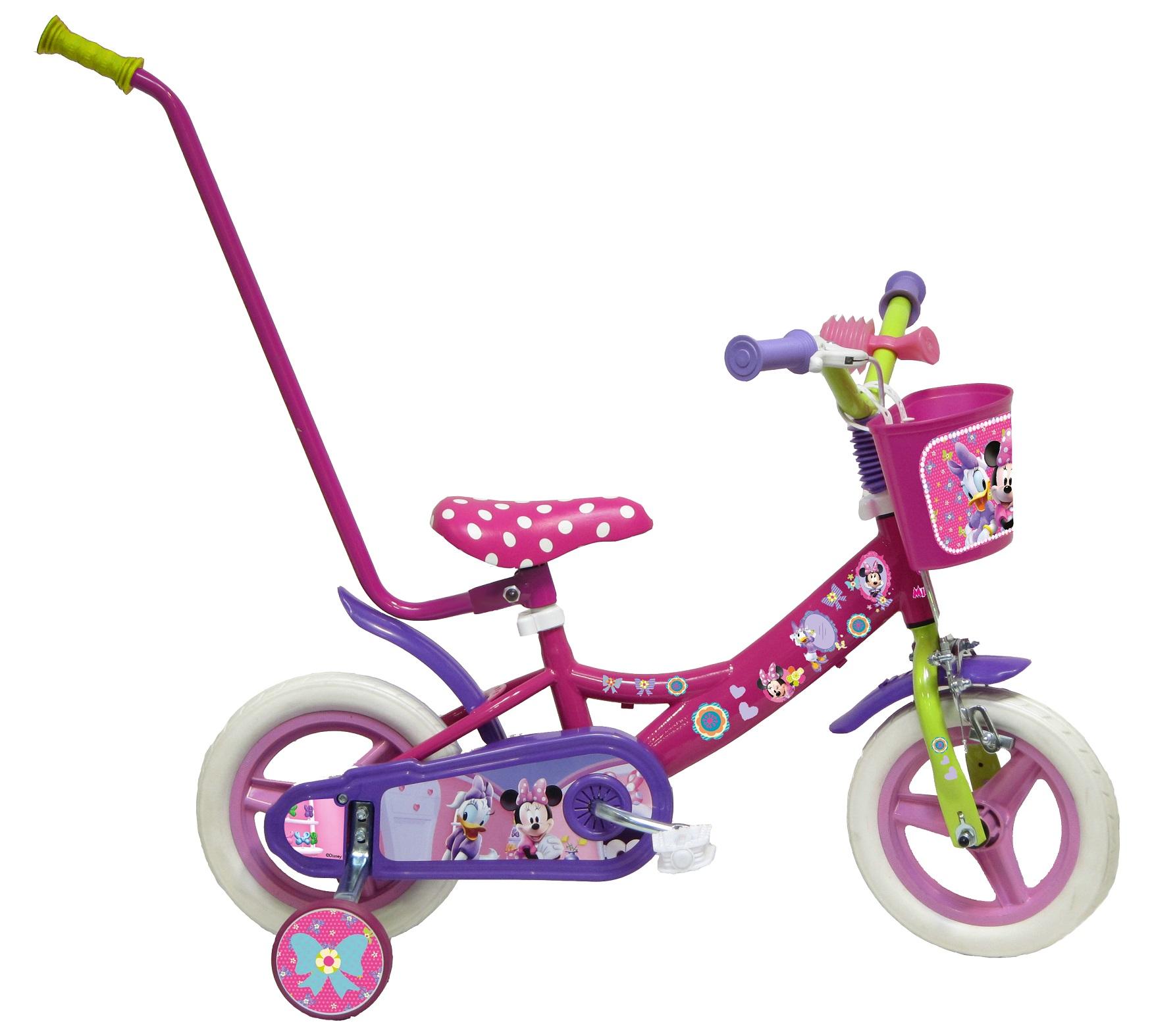 Bicicletta 10 Disney Minnie Con Canna 23 Anni
